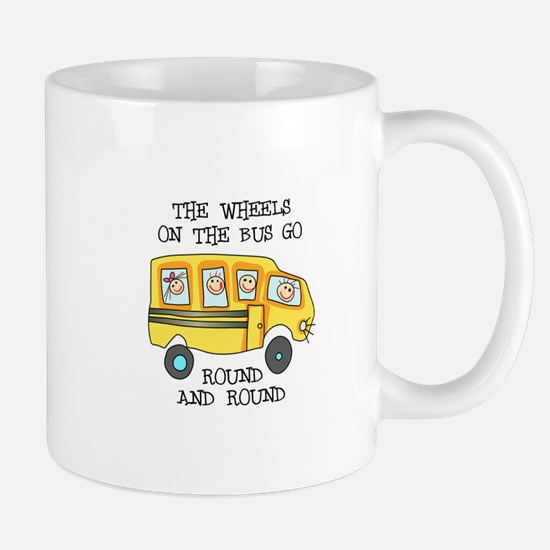 THE WHEELS ON THE BUS Mugs