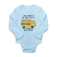 THE WHEELS ON THE BUS Body Suit
