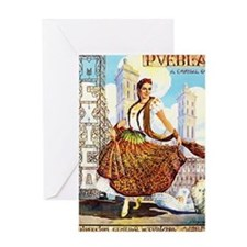 Puebla Mexico ~ Vintage Travel Greeting Cards