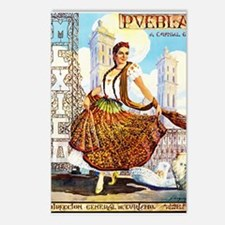 Puebla Mexico ~ Vintage Travel Postcards (Package