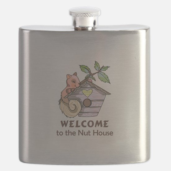 THE NUT HOUSE Flask