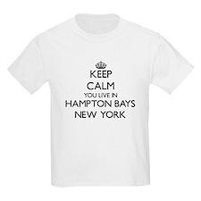 Keep calm you live in Hampton Bays N T-Shirt