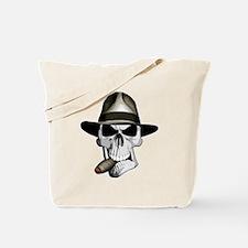Mafia Skull Tote Bag