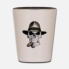 Mafia Skull Shot Glass