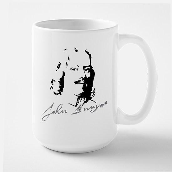 John Bunyan Portrait with Signature Mugs