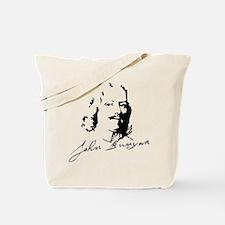 John Bunyan Portrait with Signature Tote Bag