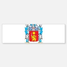 Tolentino Coat of Arms - Family Cre Bumper Bumper Bumper Sticker