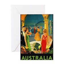 Vintage Sydney Australia Travel Greeting Cards