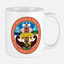 San Diego County Coat of Arms Mug