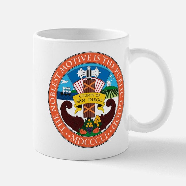 San Diego County Coat of Arms Mug