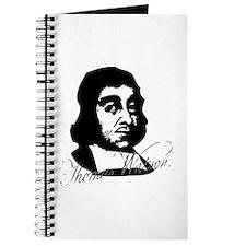 Thomas Watson Portrait With Signature Journal