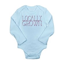 Locally Grown for Baby Girl Body Suit