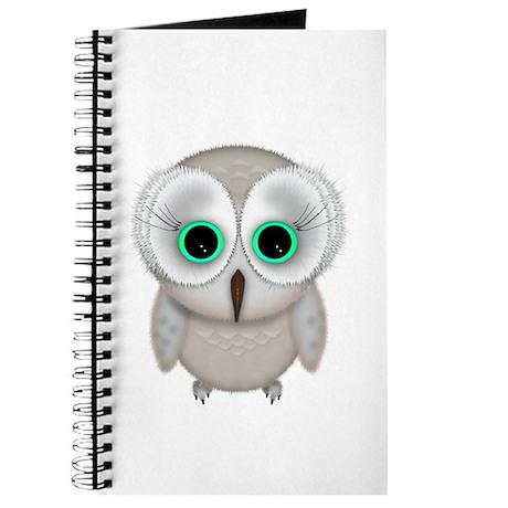 Elegant Cute Cute Owl Journal