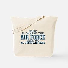 Funny Airman Tote Bag