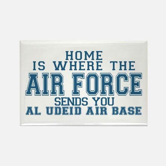 Cute Usaf wife Rectangle Magnet