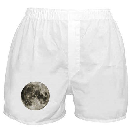 The Moon Boxer Shorts
