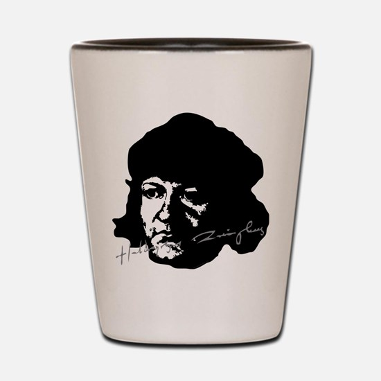 Ulrich Zwingli Portrait with Signature Shot Glass