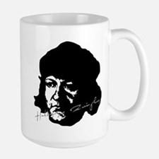 Ulrich Zwingli Portrait With Signature Mugs
