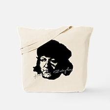Ulrich Zwingli Portrait with Signature Tote Bag