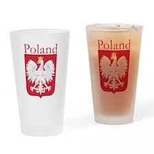 Poland White Eagle Drinkware Drinking Glass