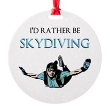 Rather Be Sky Divin... Ornament