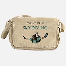 Rather Be Sky Divin... Messenger Bag