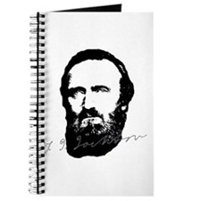 Stonewall Jackson Portrait With Signature Journal