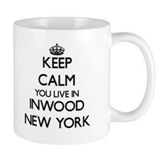 Keep calm you live in Inwood New York Mugs