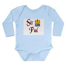 Cute Camelot Long Sleeve Infant Bodysuit