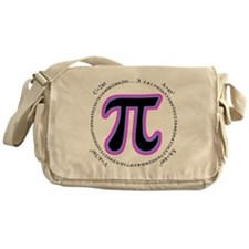Pi Design Messenger Bag