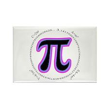 Pi Design Rectangle Magnet