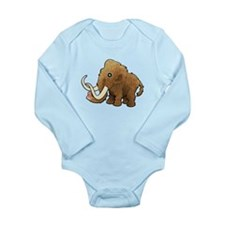 Shaggy Blue Eyed Wooly Mammoth Body Suit
