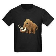 Shaggy Blue Eyed Wooly Mammoth T-Shirt