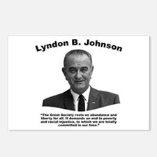 LBJ: Liberty Postcards (Package of 8)