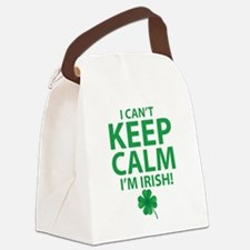 I Can't Keep Calm I'm Irish Canvas Lunch Bag