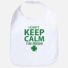 I Can't Keep Calm I'm Irish Bib