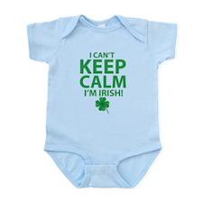 I Can't Keep Calm I'm Irish Body Suit