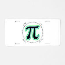 Pi Design Aluminum License Plate