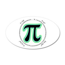 Pi Design Wall Decal