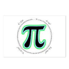 Pi Design Postcards (Package of 8)