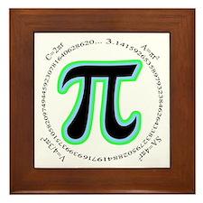 Pi Design Framed Tile