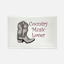 COUNTRY MUSIC LOVER Magnets