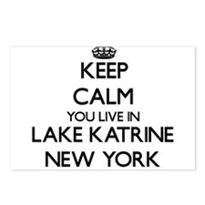 Keep calm you live in Lak Postcards (Package of 8)