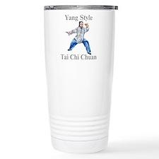 Funny Taiji Travel Mug