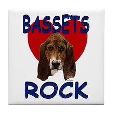 Bassets Rock Tile Coaster