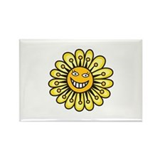 SMILING DAISY FLOWER Magnets