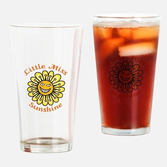 LITTLE MISS SUNSHINE Drinking Glass