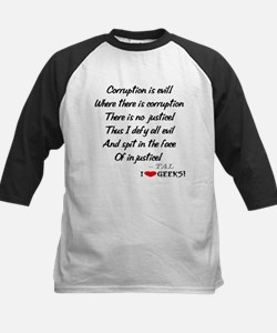 Corruption and Injustice Tee