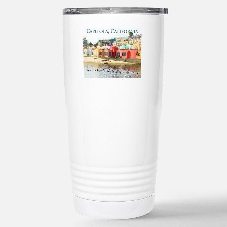 Capitola, California Travel Mug