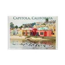 Capitola, California Rectangle Magnet